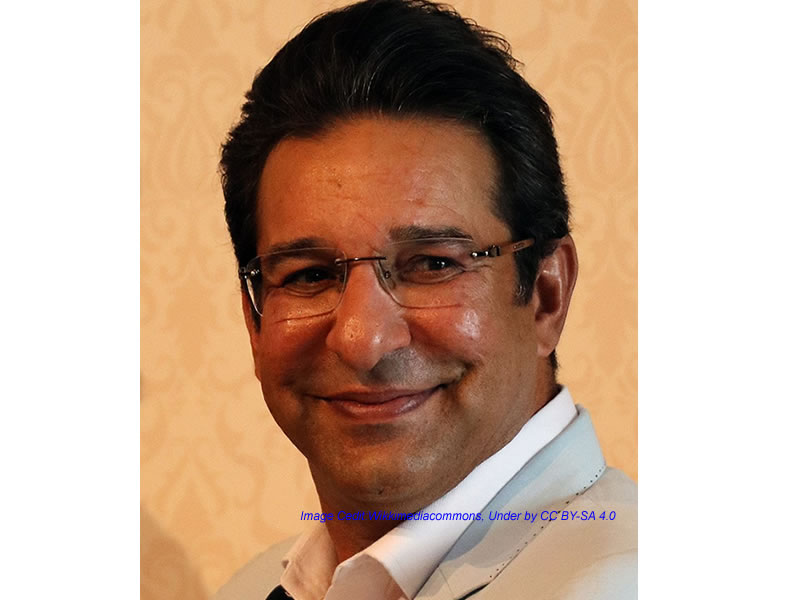 Wasim Akram says to India, Pakistan is not your enemy