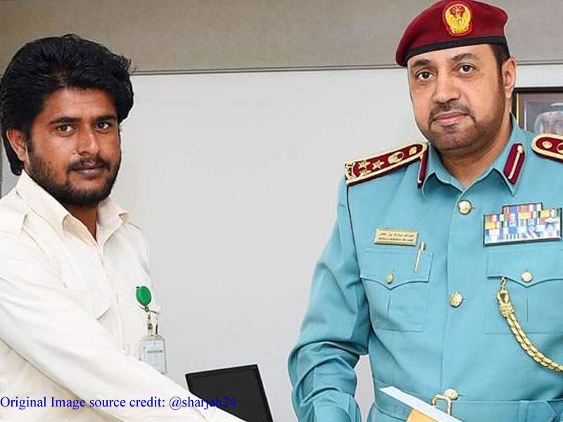 UAE government honours Pakistani expat for his bravery