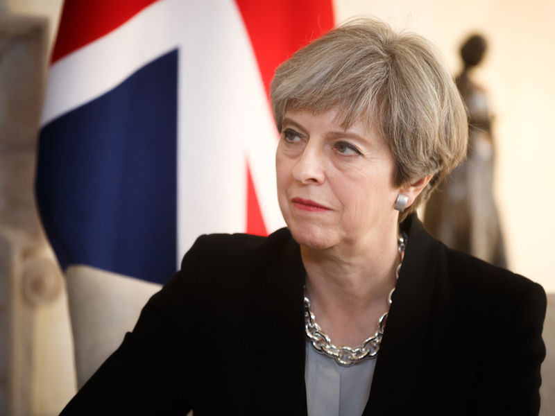 British PM Theresa appreciates Pakistan's release of Indian pilot