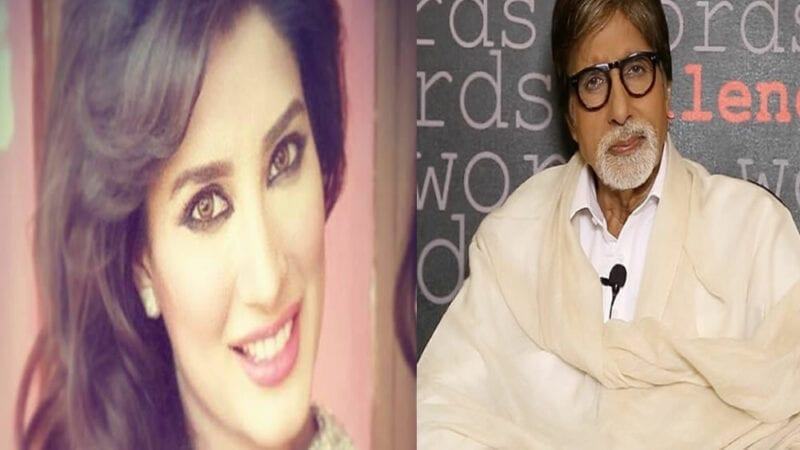 -mehwish-hayat and amitabh-bachans