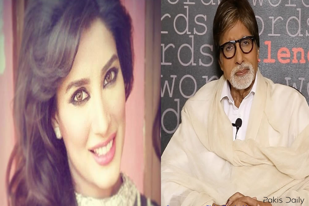 Mehwish Hayat disappointment on Amitabh Bachchan's refusal to play Pakistani role