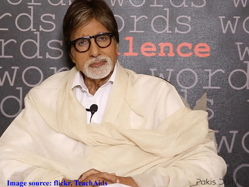 """Is Amitabh Bachchan refuses to play """"Pakistani"""" out of fear???"""