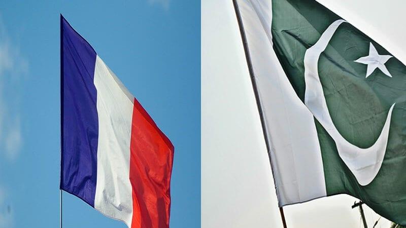 Pakistan and France Flag
