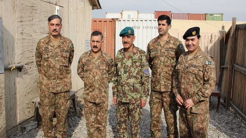 Afghan, Pakistan military leaders coordinate border security
