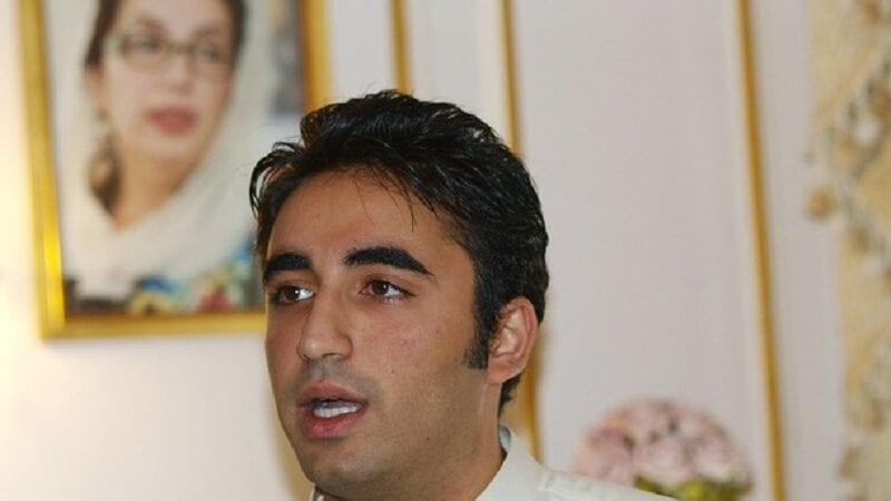 Bilawal Bhutto Zardari, the son of Pakis