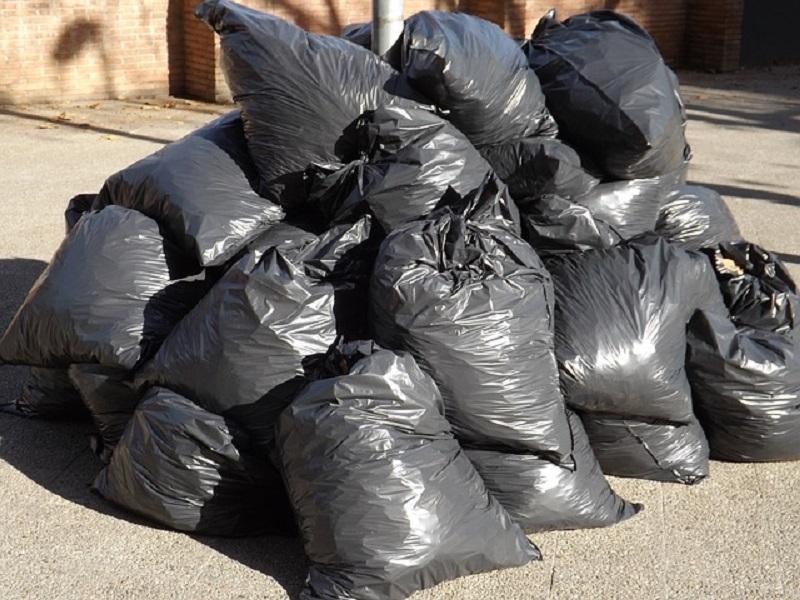 شمالی مقامات میں، پلاسٹک شاپنگ بیگ بن سے ملتے ہیں
