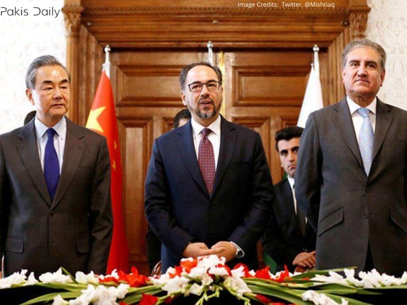 پاکستان چین ، افغانستان کے ساتھ تیسرے دور کے سہ فریقی مکالموں کی میزبانی کرے گا۔