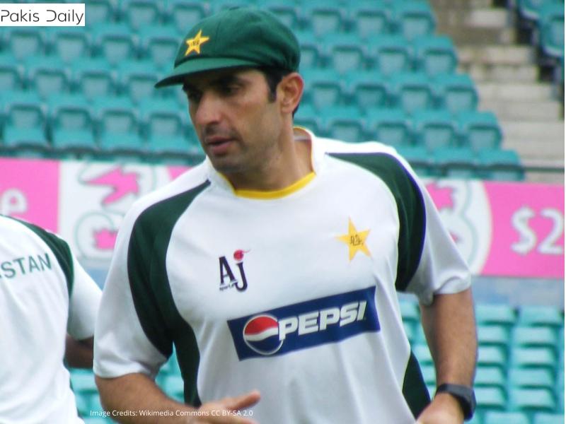 مصباح الحق کو پاکستان کا ہیڈ کوچ اور سلیکٹر مقرر کیا گیا۔