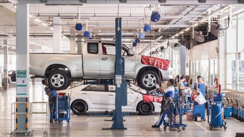 انڈس موٹرز کمپنی (آئی ایم سی) ٹویوٹا گاڑیاں بنانے والی۔