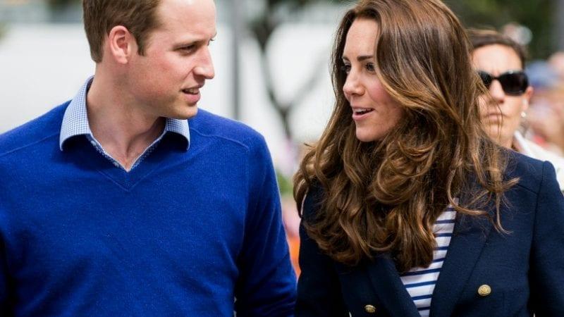 برطانیہ کے شہزادہ ولیم اور ان کی اہلیہ کیٹ مڈلٹن۔