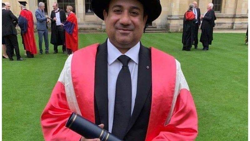 استاد راحت فتح علی خان۔