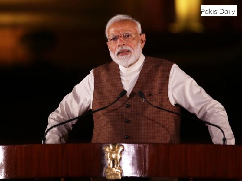 بھارتی وزیر اعظم مودی آبی دہشت گردی میں ملوث ہیں ، کہتے ہیں پاکستان میں پانی کے بہاؤ کو روکنے کے لئے کام شروع کر دیا گیا ہے.