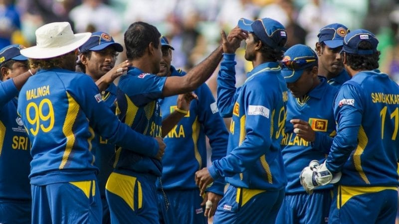 Sri Lanka cricketers