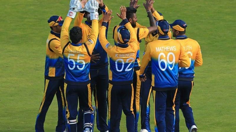 سری لنکا کی کرکٹ ٹیم۔