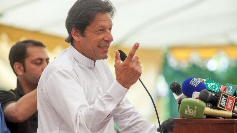 وزیر اعظم عمران خان۔