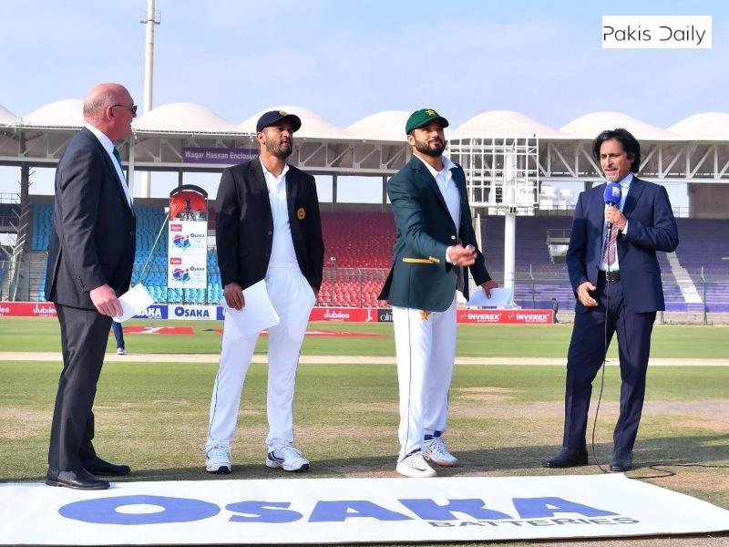 پاکستان نے دوسرے ٹیسٹ میں سری لنکا کے خلاف ٹاس جیت کر بیٹنگ کی.