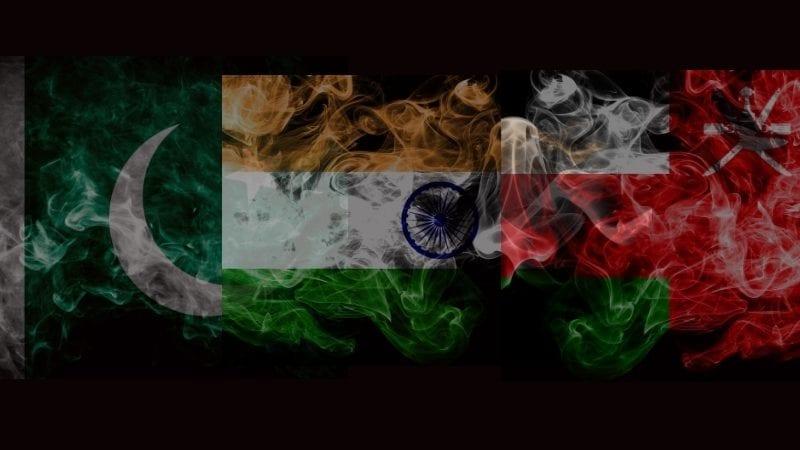 ہندوستان ، پاکستان اور عمان