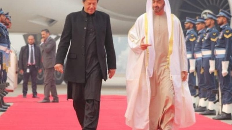 ابو ظہبی کے ولی عہد شہزادہ شیخ محمد بن زاید النہیان