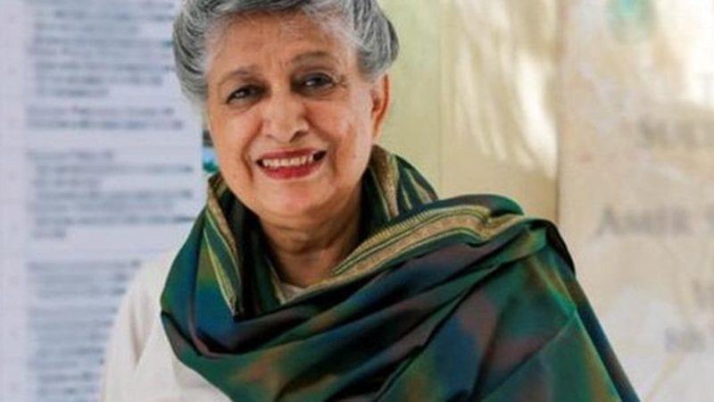 پاکستان کی پہلی خاتون معمار یاسمین لاری