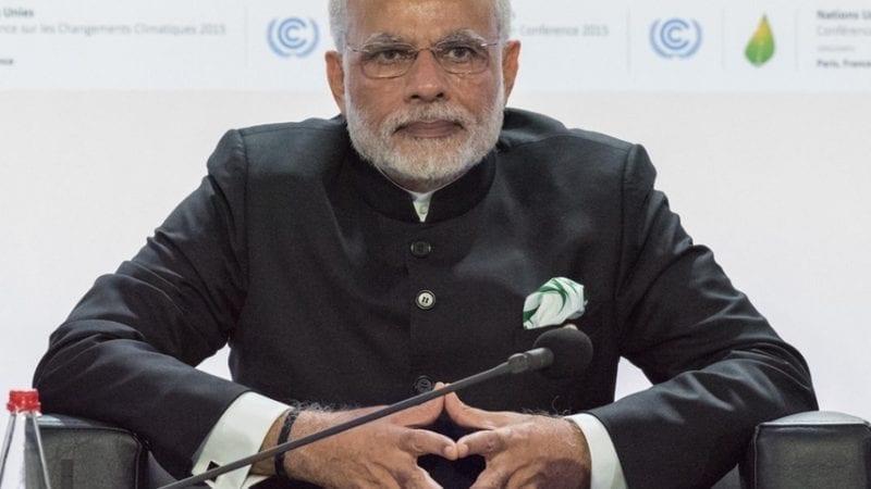 ہندوستان کے صدر نریندر مودی