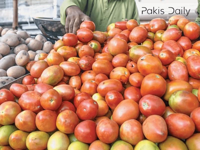 لاک ڈاؤن کے باعث ٹماٹر کے کاشتکار شدید نقصان میں