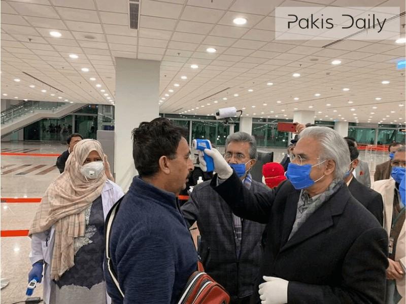 متحدہ عرب امارات سے پاکستانیوں کی آمد, قرنطینہ منتقل