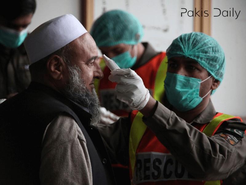 کورونا: پاکستان میں پچھلے 24 گھنٹوں میں ریکارڈ اموات