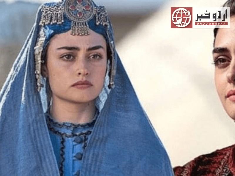 ترکی ڈرامہ ارتغرل کی اداکارہ حلیمہ سلطان اور دیگر کی پاکستان آنے کی خواہش