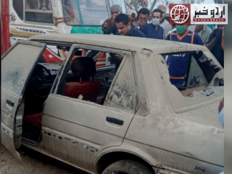 کراچی: لاوارث کار سے 2 بچوں کی لاشیں برآمد