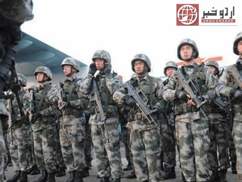 لداخ: چینی فوج کا سرحدی خلاف ورزی پر بھارت کو جواب