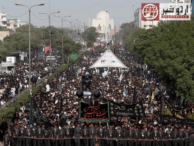 ملک بھر میں یوم علی نہایت عقیدت سے منایا جا رہا ہے