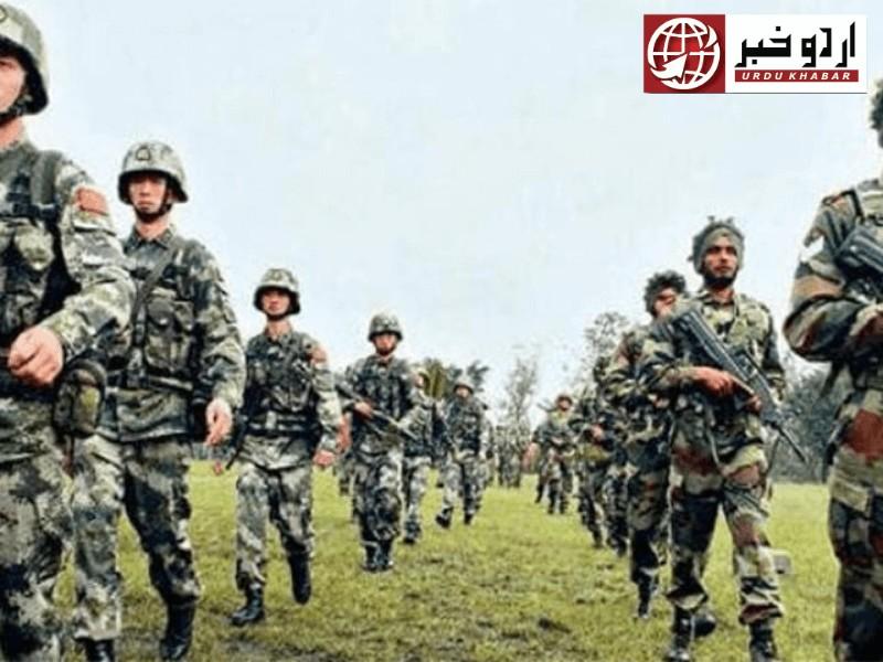 چین اور بھارتی فوج میں تصادم،بیس بھارتی فوج ہلاک