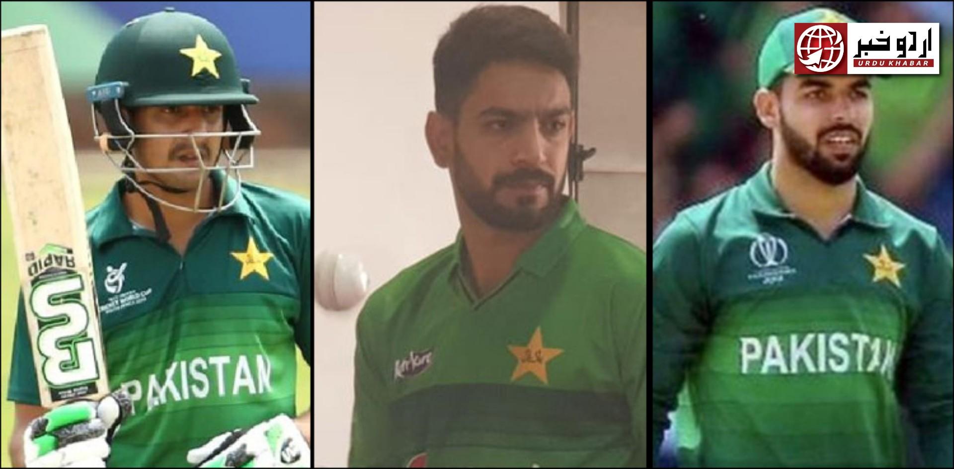 پاکستان کرکٹ ٹیم کے 3 کھلاڑیوں میں کورونا کی تشخیص