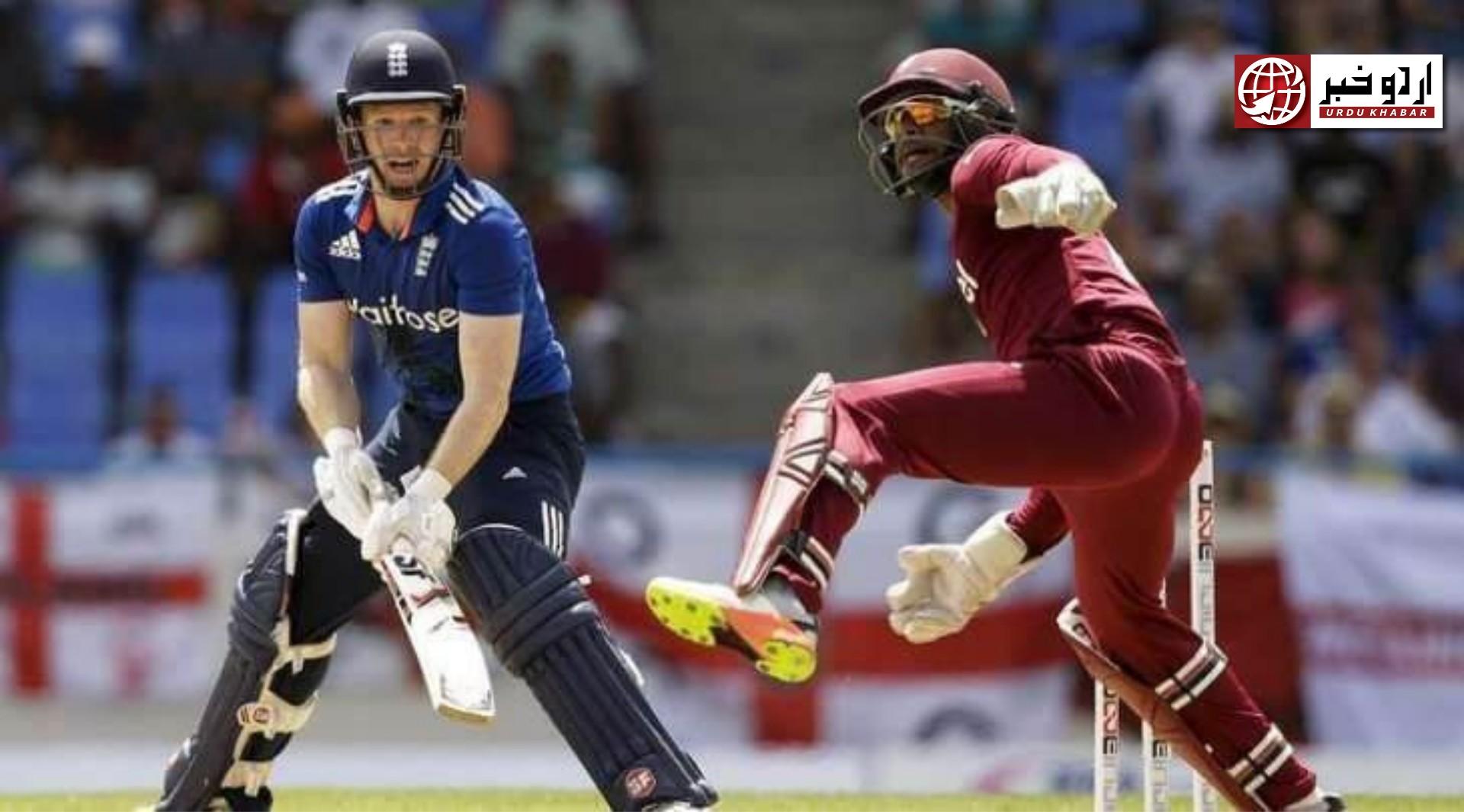 ویسٹ انڈیز نے انگلینڈ کو چار وکٹوں سے ہرا دیا