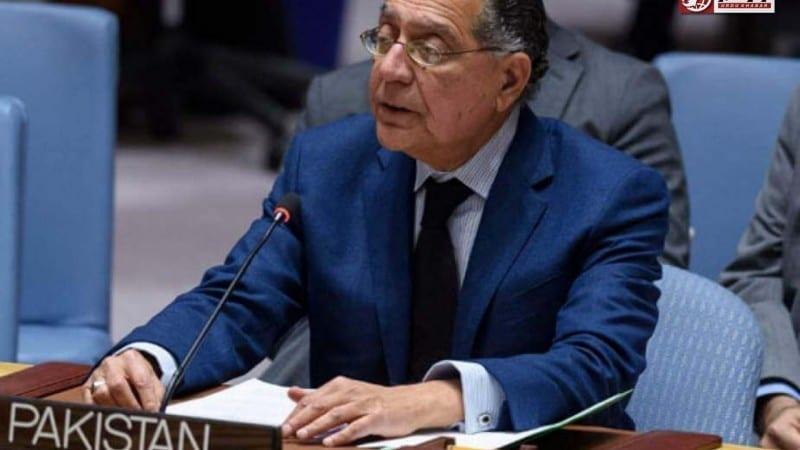 پاکستان نے اقوام متحدہ میں بھارتی دہشتگردی کا معاملہ اٹھایا
