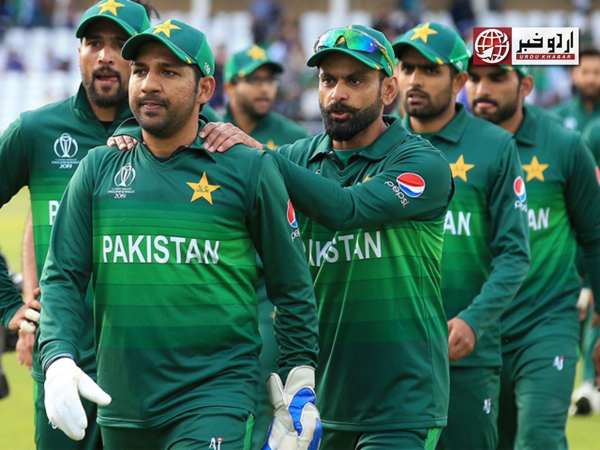 پاکستانی کرکٹ ٹیم کے کھلاڑیوں کی ووسٹر میں نیٹ پریکٹس