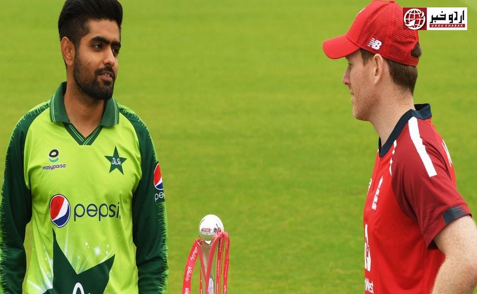 پاکستان اور انگلینڈ کے درمیان پہلا ٹی ٹونٹی میچ آج کھیلا جائے گا