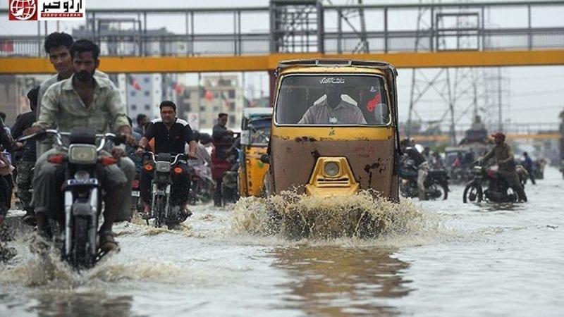 کراچی-کی-سیلابی-بارش