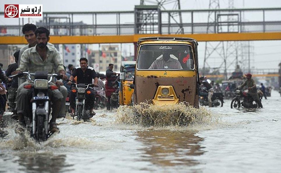 کراچی میں سیلابی بارشیں، 23 افراد جاں بحق
