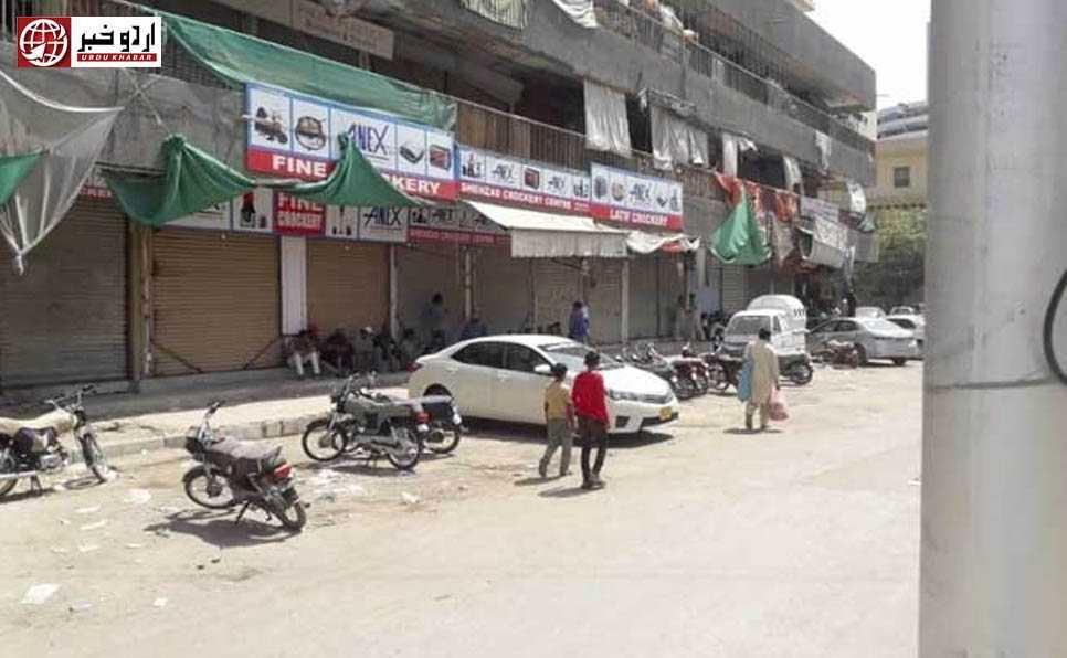 کراچی: منگھو پیر کے علاقے میں اسمارٹ لاک ڈاؤن لگا دیا گیا