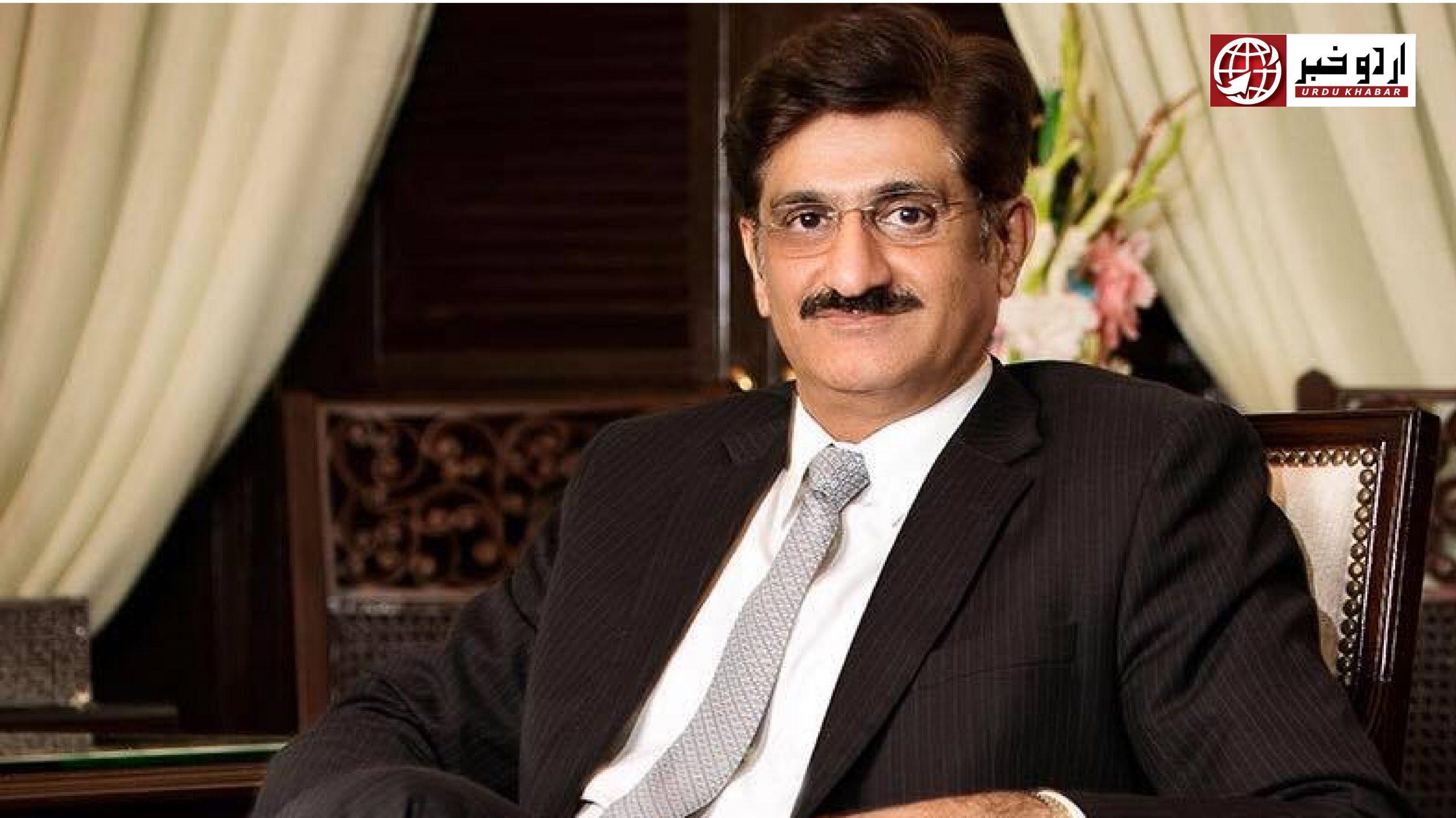 وزیر اعلی سندھ مراد علی شاہ بھی کورونا وائرس کا شکار ہو گئے