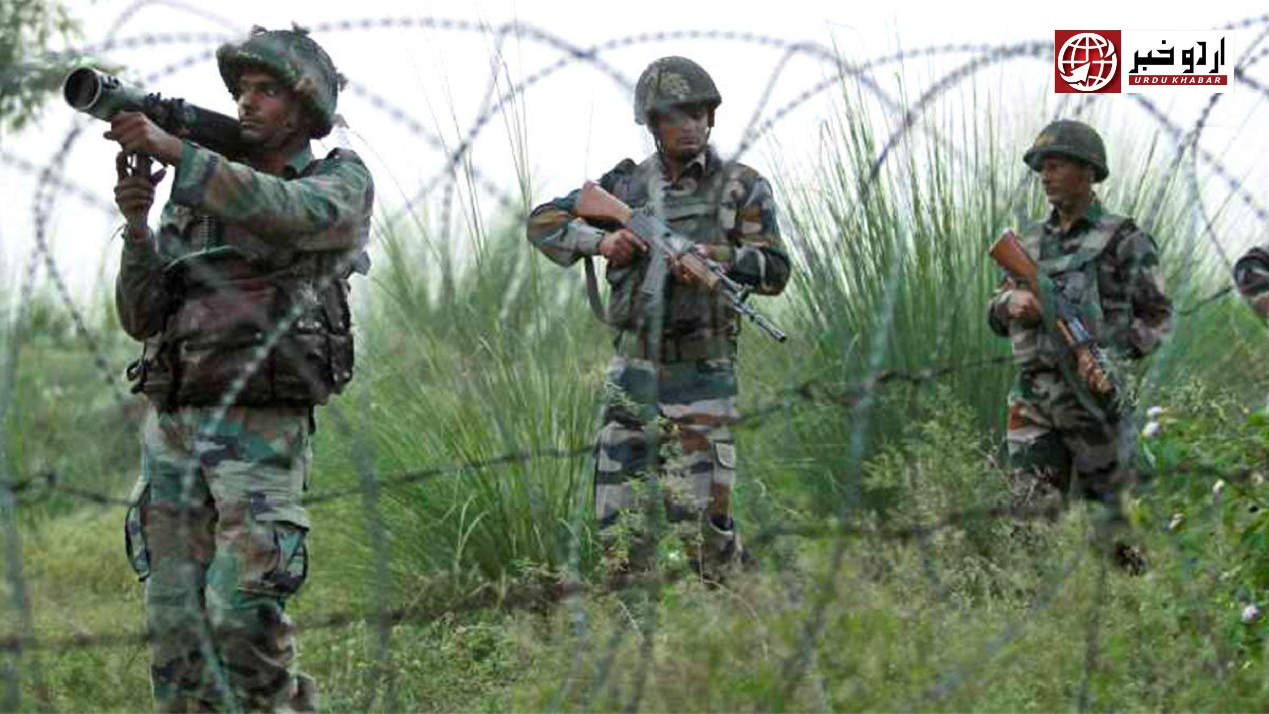 ایل او سی: بھارتی فوج کی بلا اشتعال فائرنگ سےایک جوان سمیت پانچ شہید