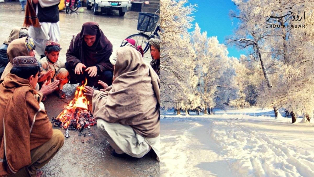 کراچی میں شدید سردی کی لہر، درجہ حرارت 9 ڈگڑی ہو گیا