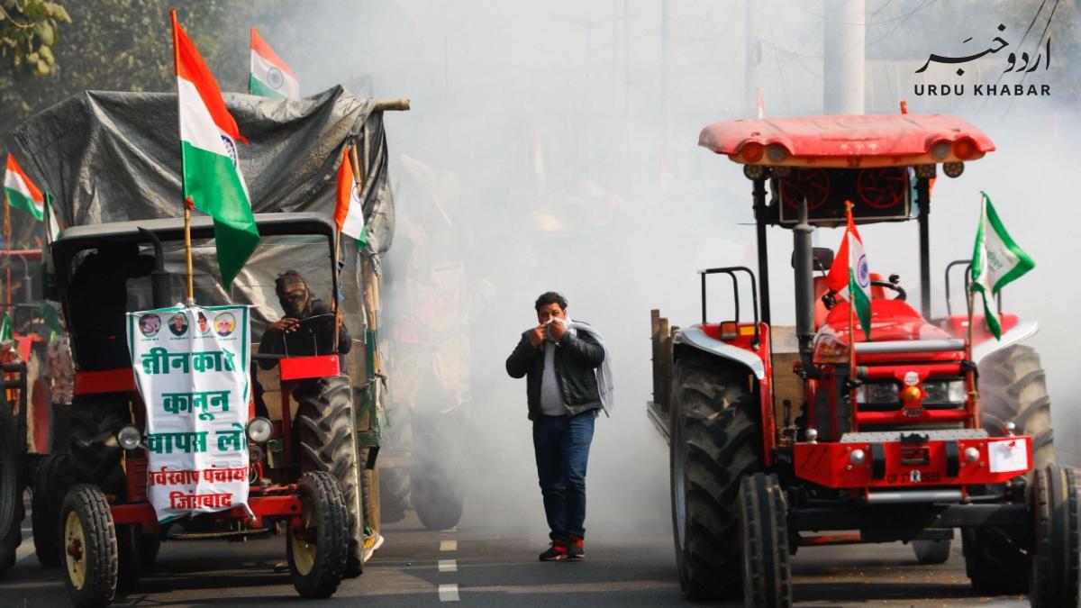 انڈیا میں کسانوں نے دوبارہ احتجاج کے لئے پہنچ گئے