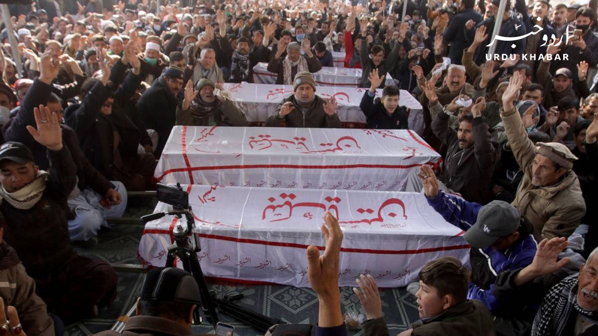 ہزارہ برادری نے اپنے شہداء کو دفنانے سے انکار کر دیا، احتجاج جاری
