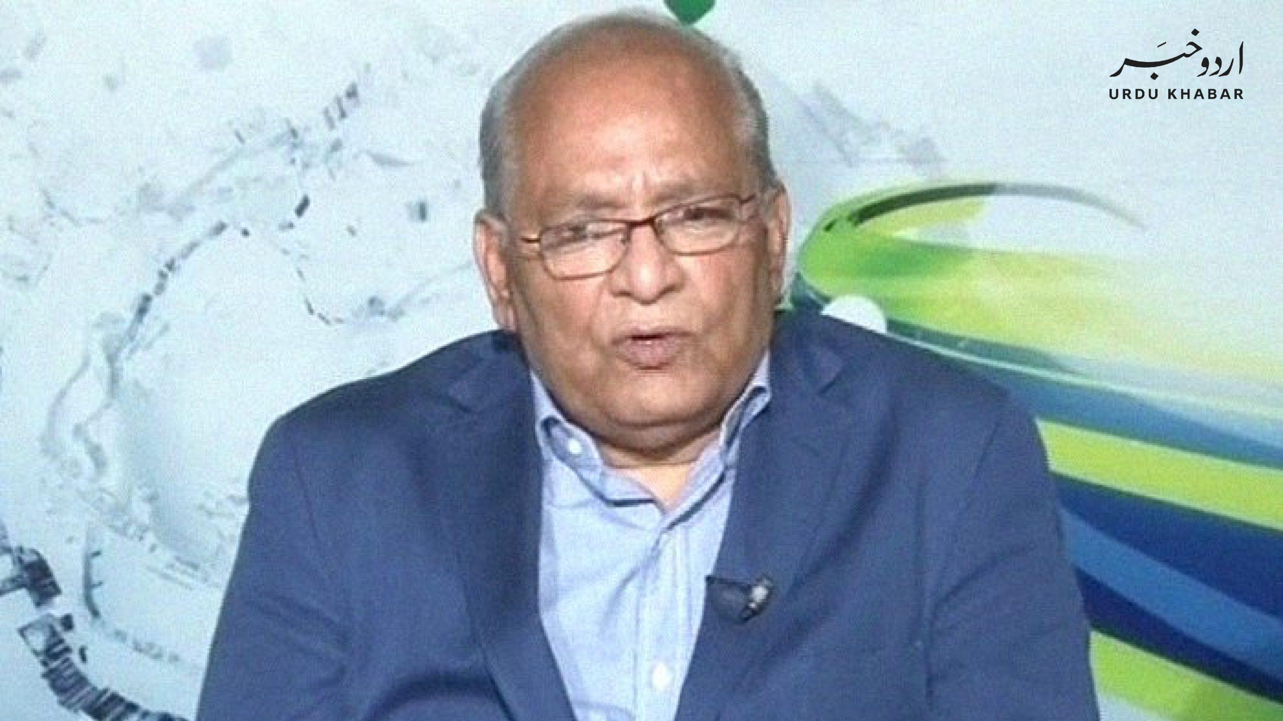 ن لیگی سینیٹر مشاہد اللہ خان انتقال کر گئے