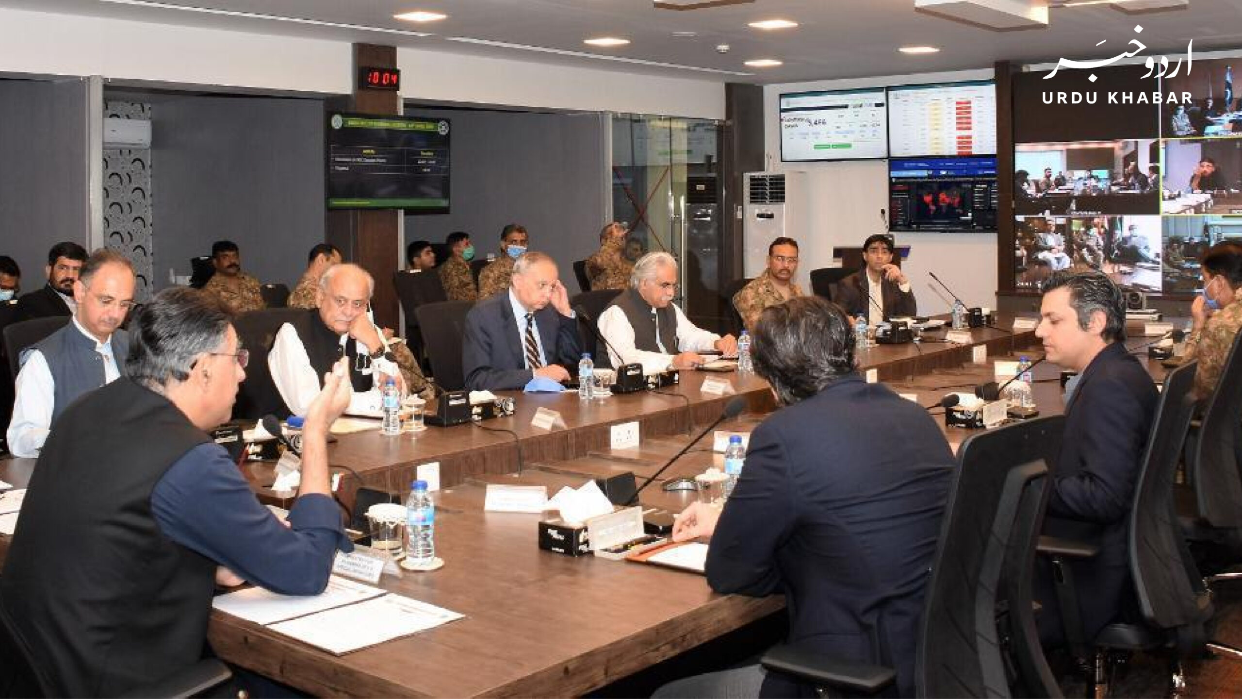 پنجاب اور خیبرپختونخواہ میں کیسز بڑھنے پر نیشنل کمانڈ سینٹر کا ہنگامی اجلاس