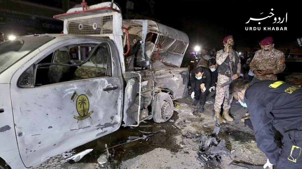 کراچی حملہ: ایک رینجر اہلکار شہید، آٹھ زخمی