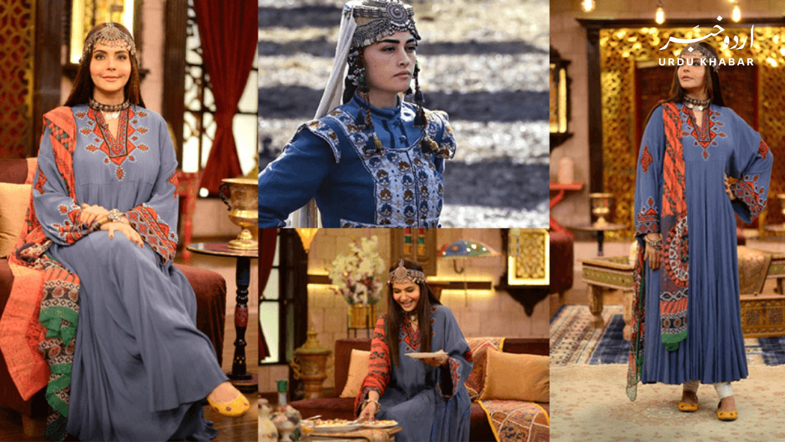 ندا یاسر نے ارتغرل سٹار جیسا لباس پہنا، انٹرنیٹ پہ وائرل