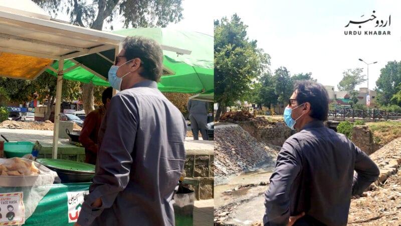 وزیر اعظم کا بغیر پروٹوکول اسلام آباد کے مختلف علاقوں کا دورہ